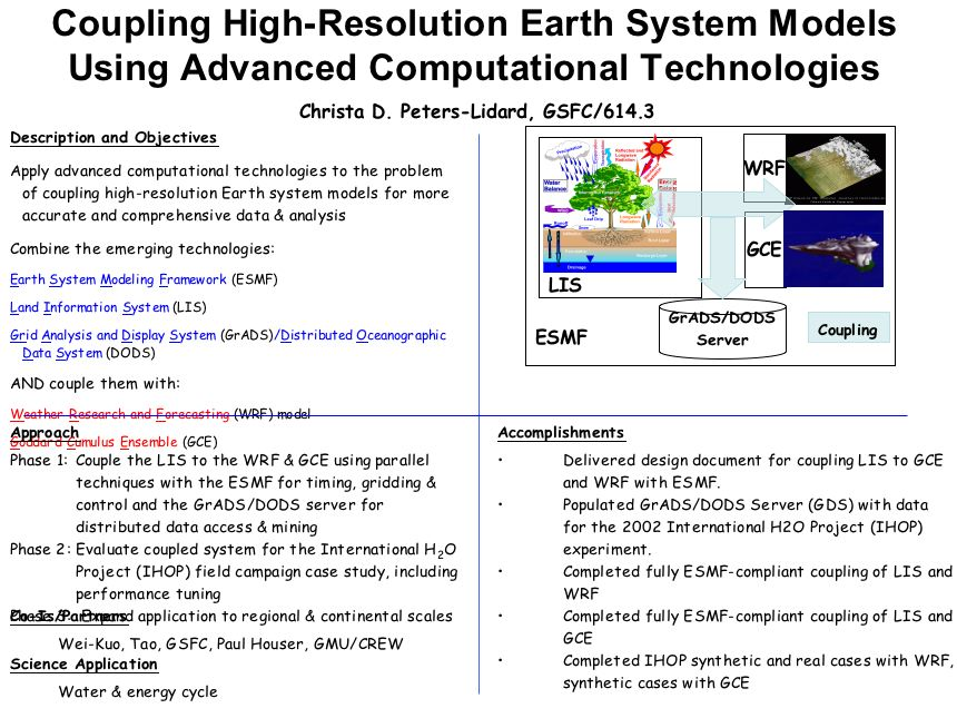 Coupling High-Resolution Earth System Models Using Advanced Computational Technologies