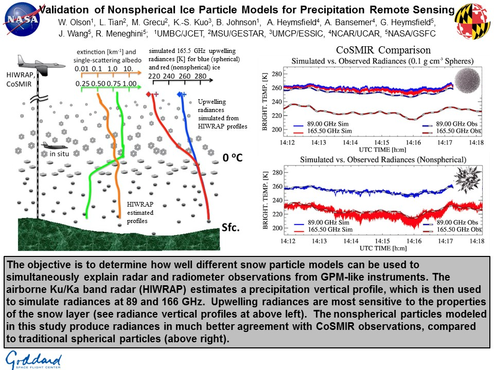 Validation of Nonspherical Ice Particle Models for Precipitation Remote Sensing