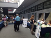 Code 618 booth at the 2016 science Jamboree