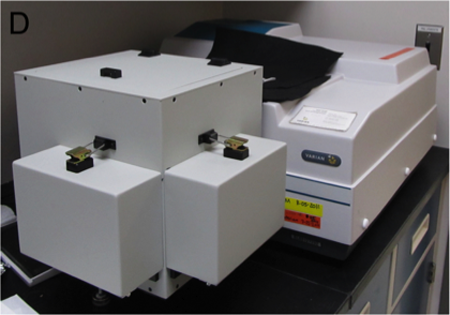 Cary 100 UV-Vis Spectrophotometer with External Integrating Sphere