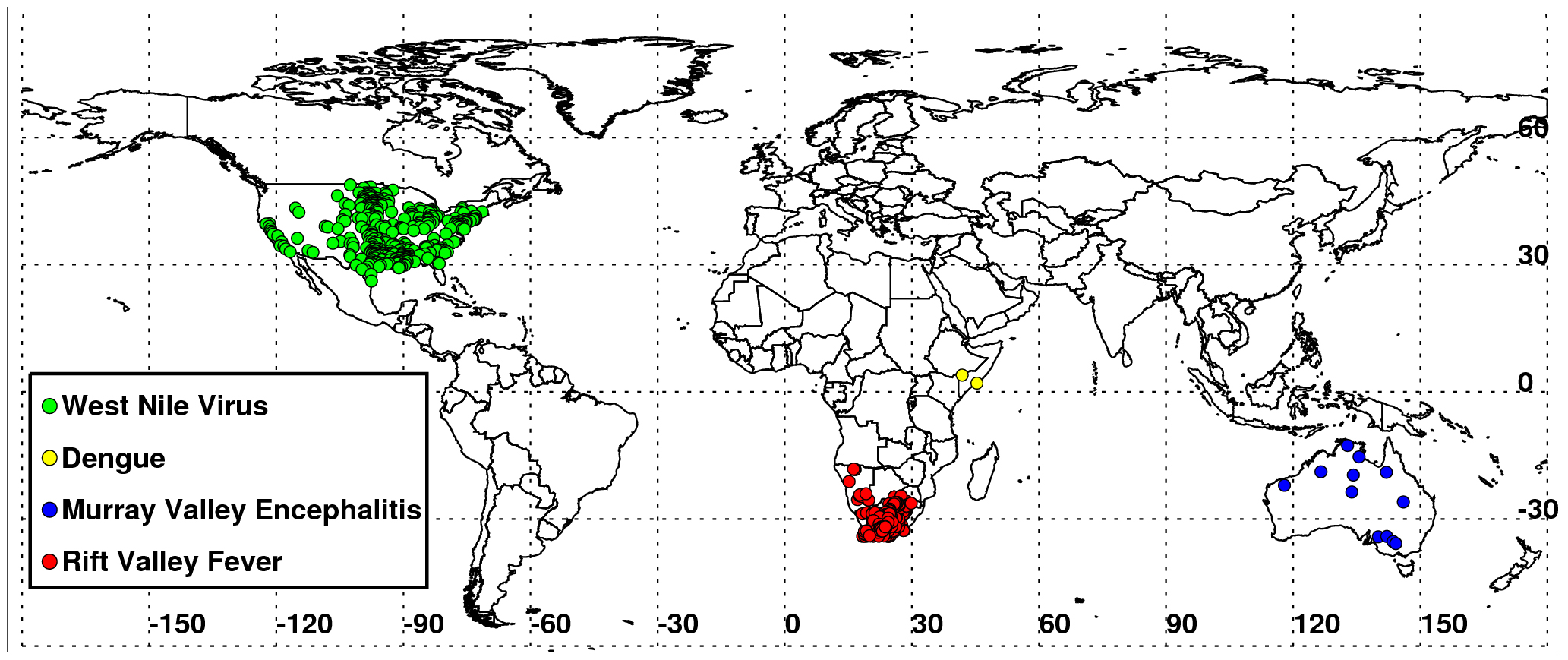 Global Outbreaks Map