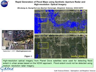 Rapid Generation of Flood Maps using Synthetic Aperture Radar and  High-resolution Optical Imagery