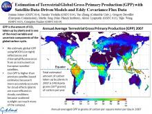 Estimation of Terrestrial Global Gross Primary Production (GPP) with Satellite Data-Driven Models and Eddy Covariance Flux Data