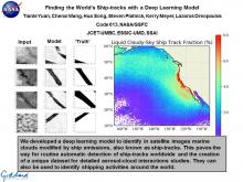 Finding the World's Ship-tracks with a Deep Learning Model