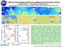 LVIS Canopy Height and Structure Mapping of Forests in Africa