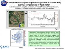 Columbia Basin Project irrigation likely cooled maximum daily summer temperatures in Washington