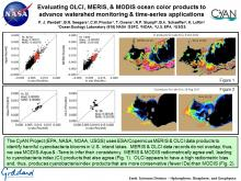 Evaluating OLCI, MERIS, & MODIS ocean color products to advance watershed monitoring & time-series applications